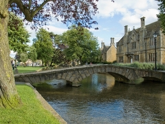 Tudor Caravan Park - One of the bridges in Bourton on the Water